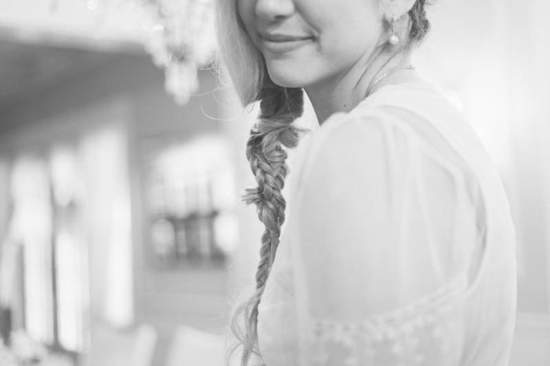 Summer Wedding Braid | MALLORIE OWENS