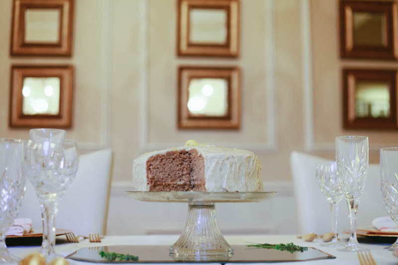 Lemon Poppyseed Wedding Cake Recipe | MALLORIE OWENS