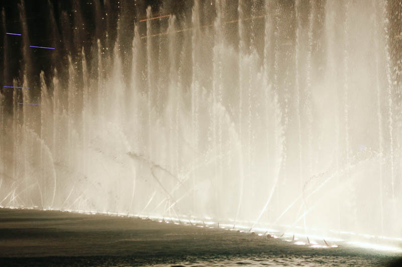 The Bellagio Fountain | MALLORIE OWENS