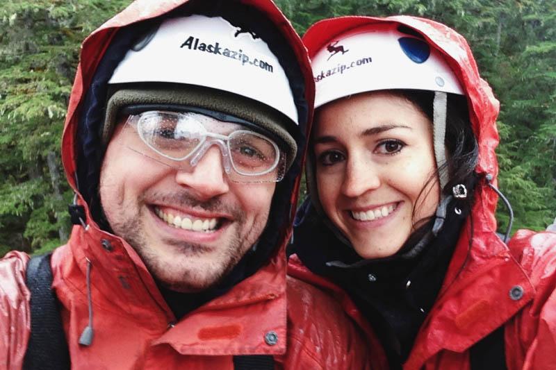 Ziplining in Alaska | MALLORIE OWENS
