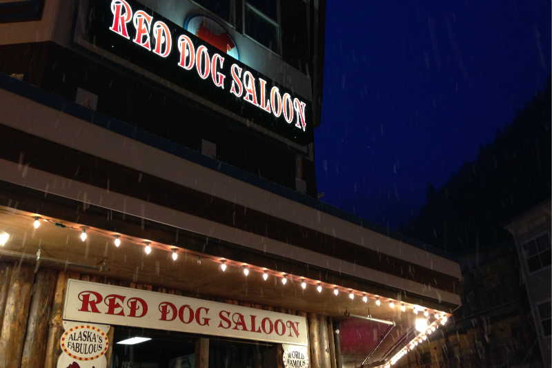 Places to Eat in Juneau, Alaska ↠ Red Dog Saloon   MALLORIE OWENS