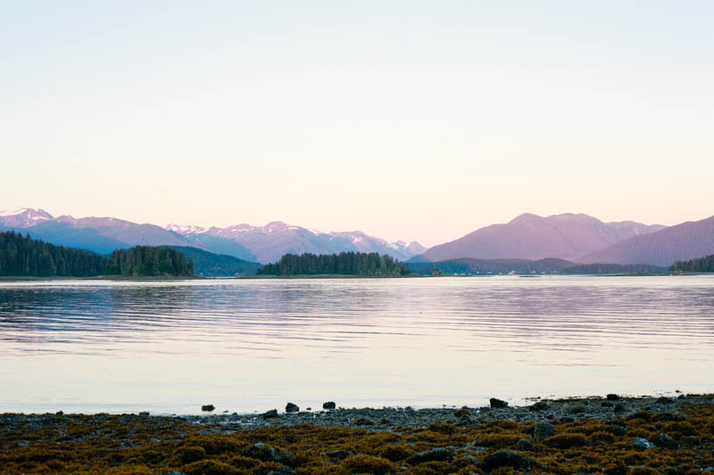 Pink and Purple Alaskan Sunset | MALLORIE OWENS