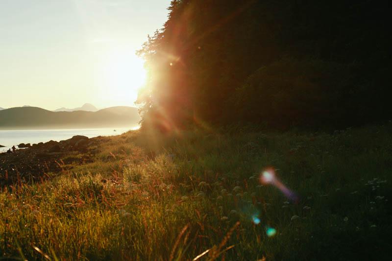 Sunset at Point Louisa, Juneau, Alaska | MALLORIE OWENS