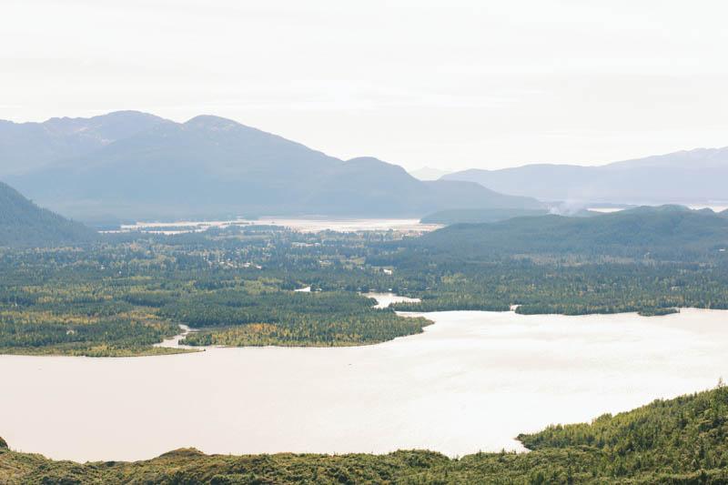Juneau, Alaska from Above | MALLORIE OWENS