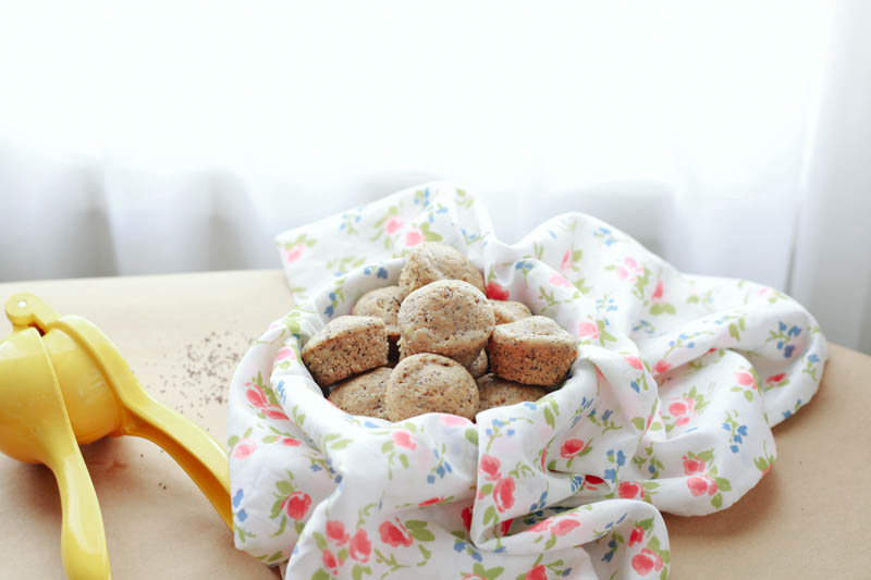 Mini Lemon Poppyseed Muffins Recipe | MALLORIE OWENS