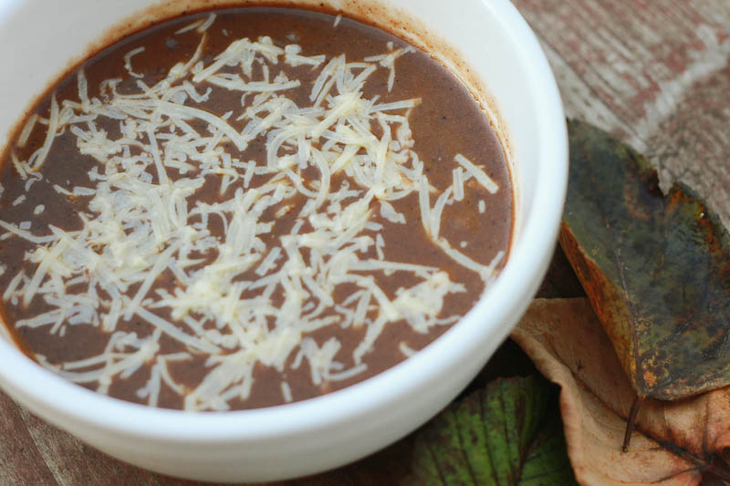 Black Bean and Pumpkin Soup Recipe | MALLORIE OWENS