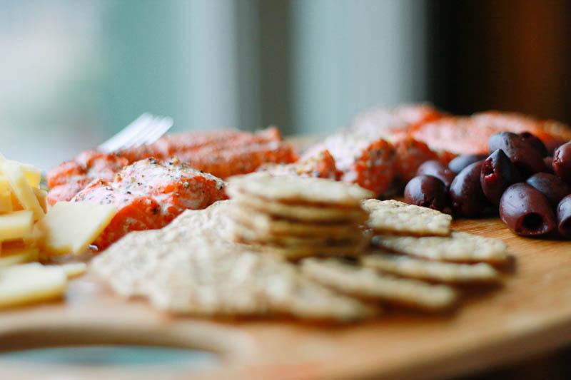 Salmon Platter Appetizer | MALLORIE OWENS