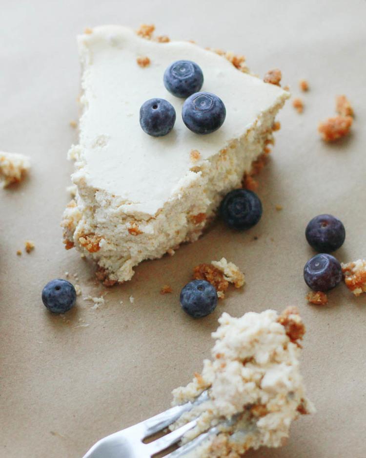 Healthier Homemade Cheesecake Recipe. | MALLORIE OWENS