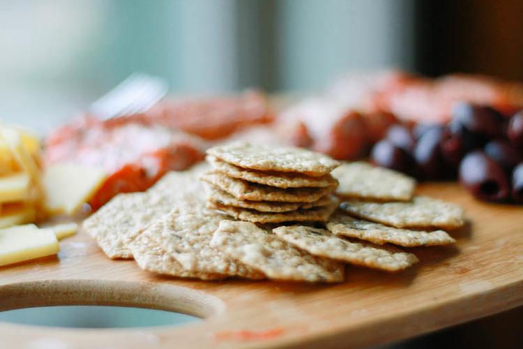Baked Salmon Platter ≫≫ Appetizer Idea | MALLORIE OWENS