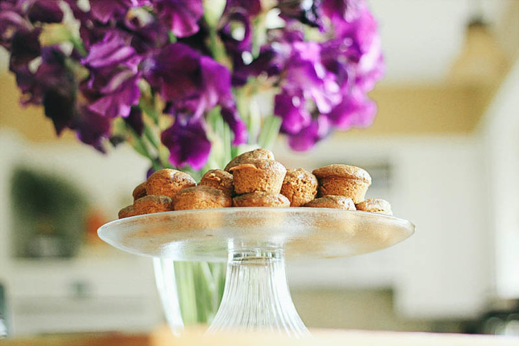 Whole Wheat Chocolate Chip Pumpkin Muffins Recipe | MALLORIE OWENS