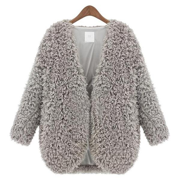 Fluffy Jacket from Haute Basics   MALLORIE OWENS