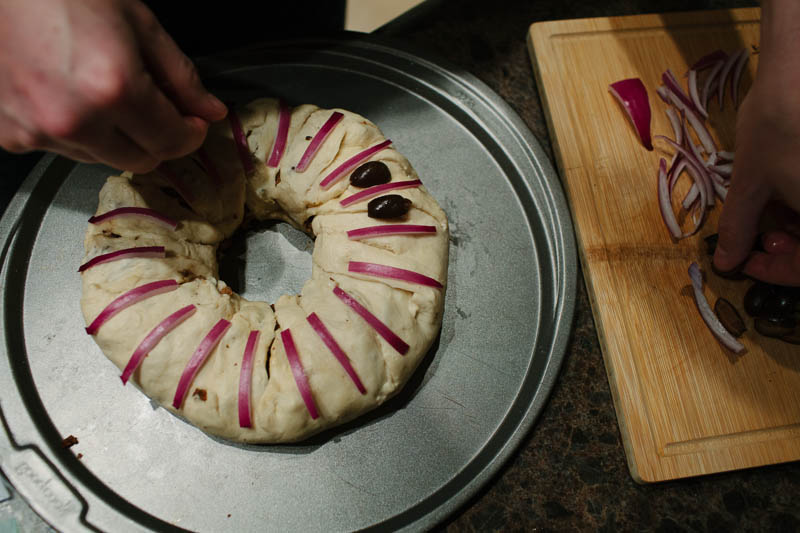 Taco Ring Recipe | MALLORIE OWENS
