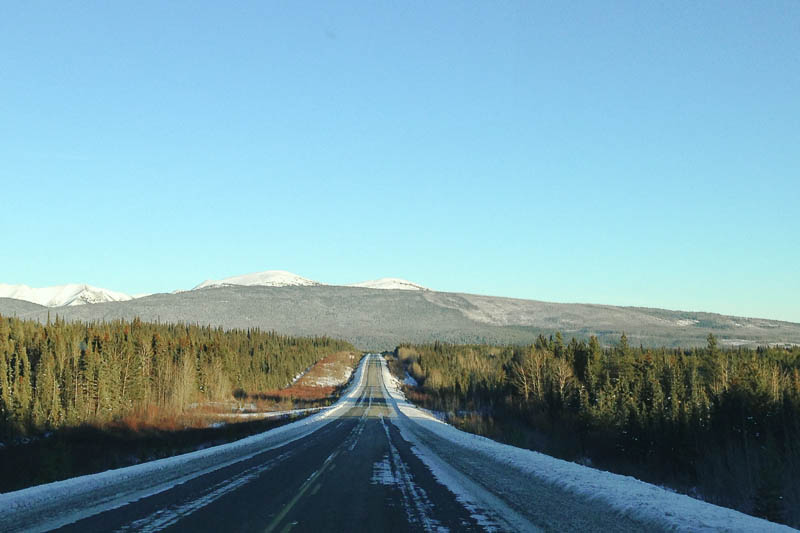 Drive through Yukon Territory | MALLORIE OWENS