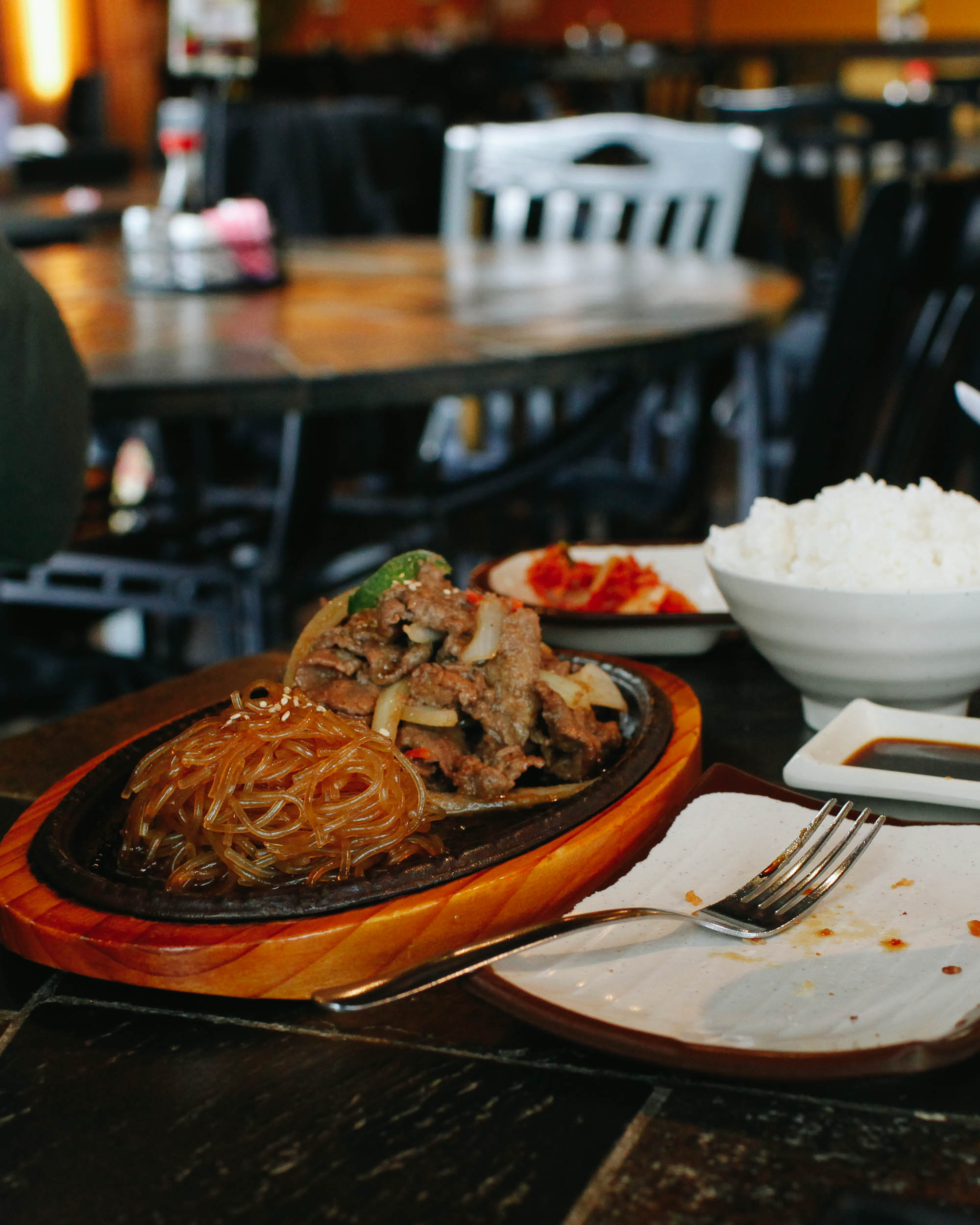 Places to Eat in Wichita, Kansas ↠ Hot Stone Korean Grill | MALLORIE OWENS