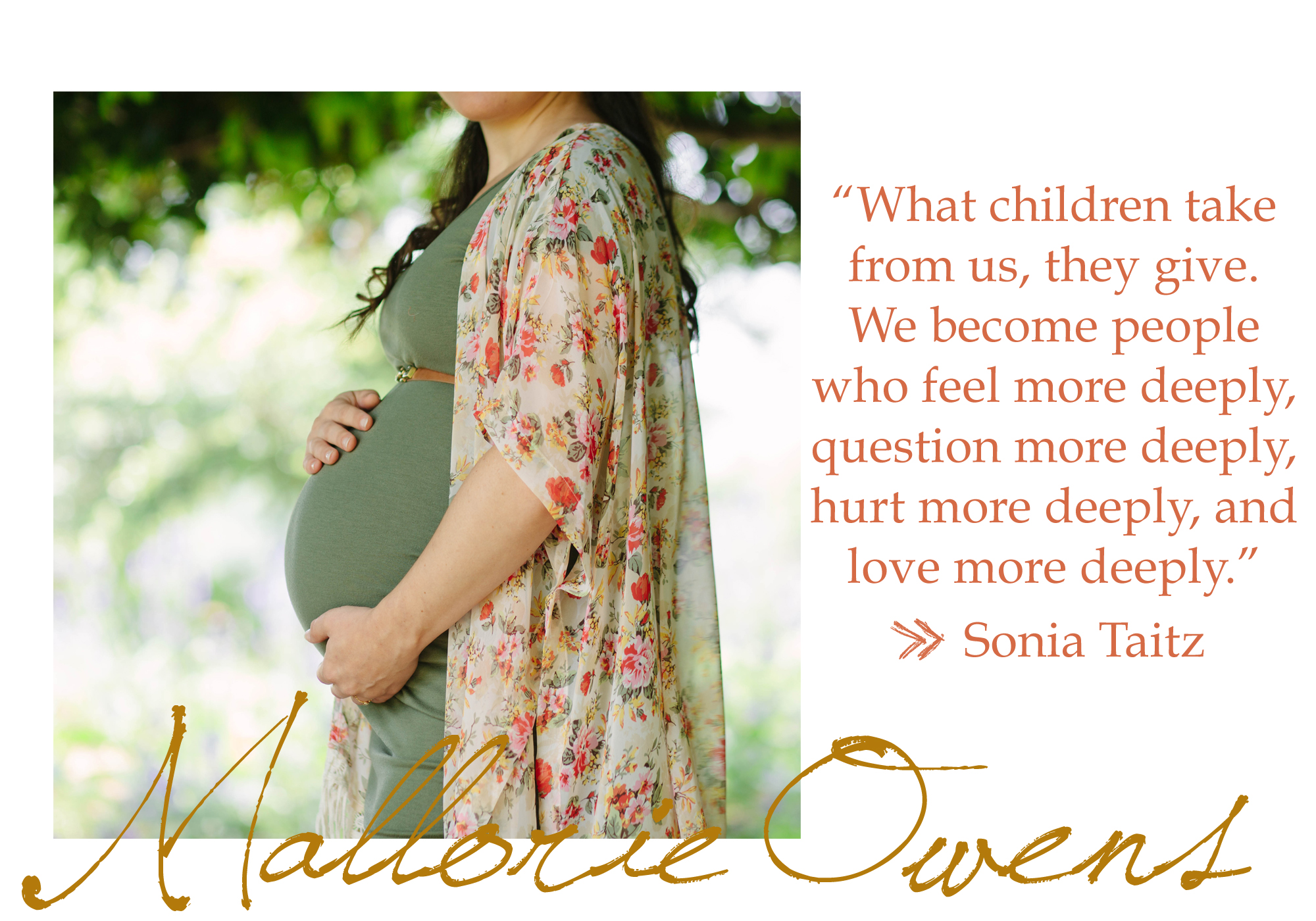 Mother's Day Quote | MALLORIE OWENS