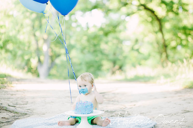 Cake Smash Photo Shoot | MALLORIE OWENS