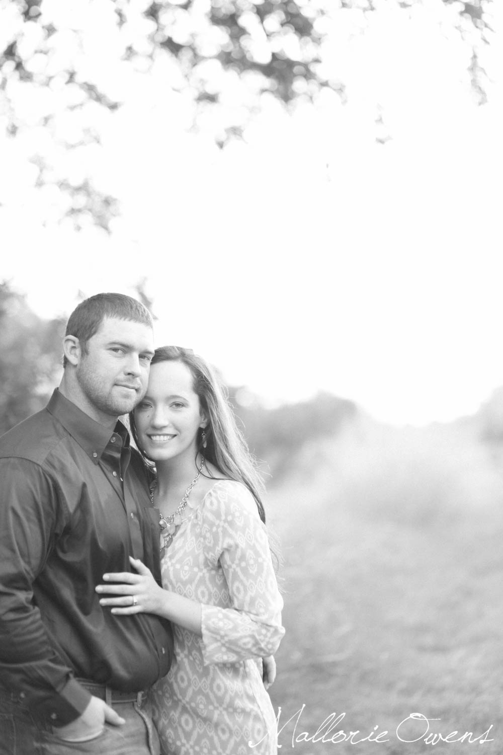 Sunset Engagement Photography | MALLORIE OWENS