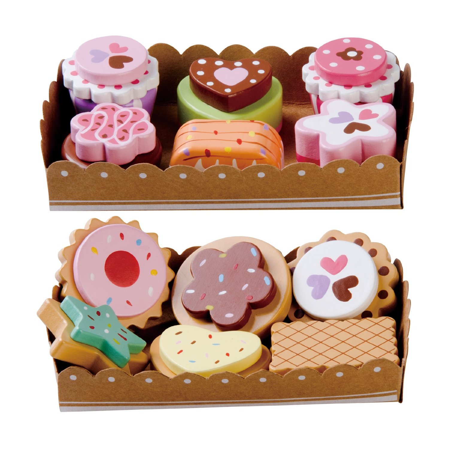 Wooden Cakes and Biscuits from BeeSmart   MALLORIE OWENS