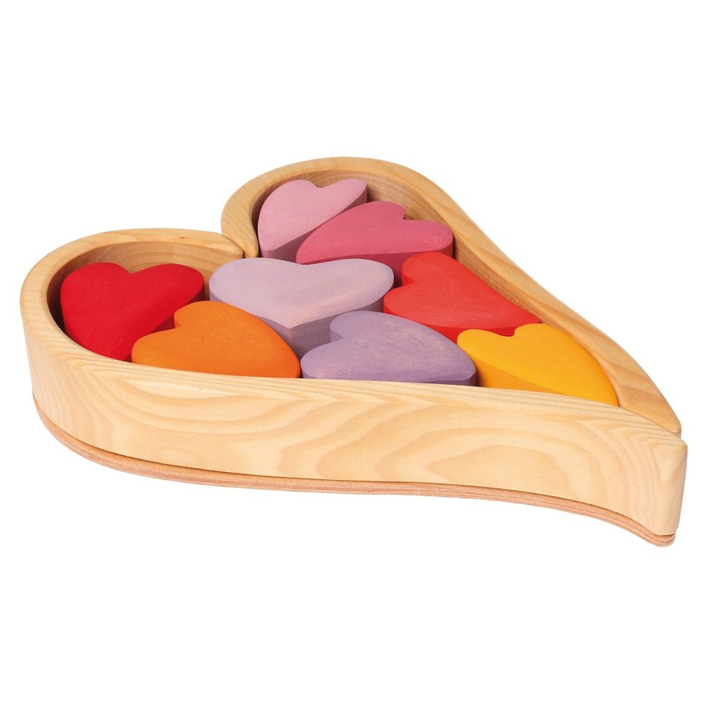 Heart Baby Wooden Puzzle from Bella Luna Toys | MALLORIE OWENS