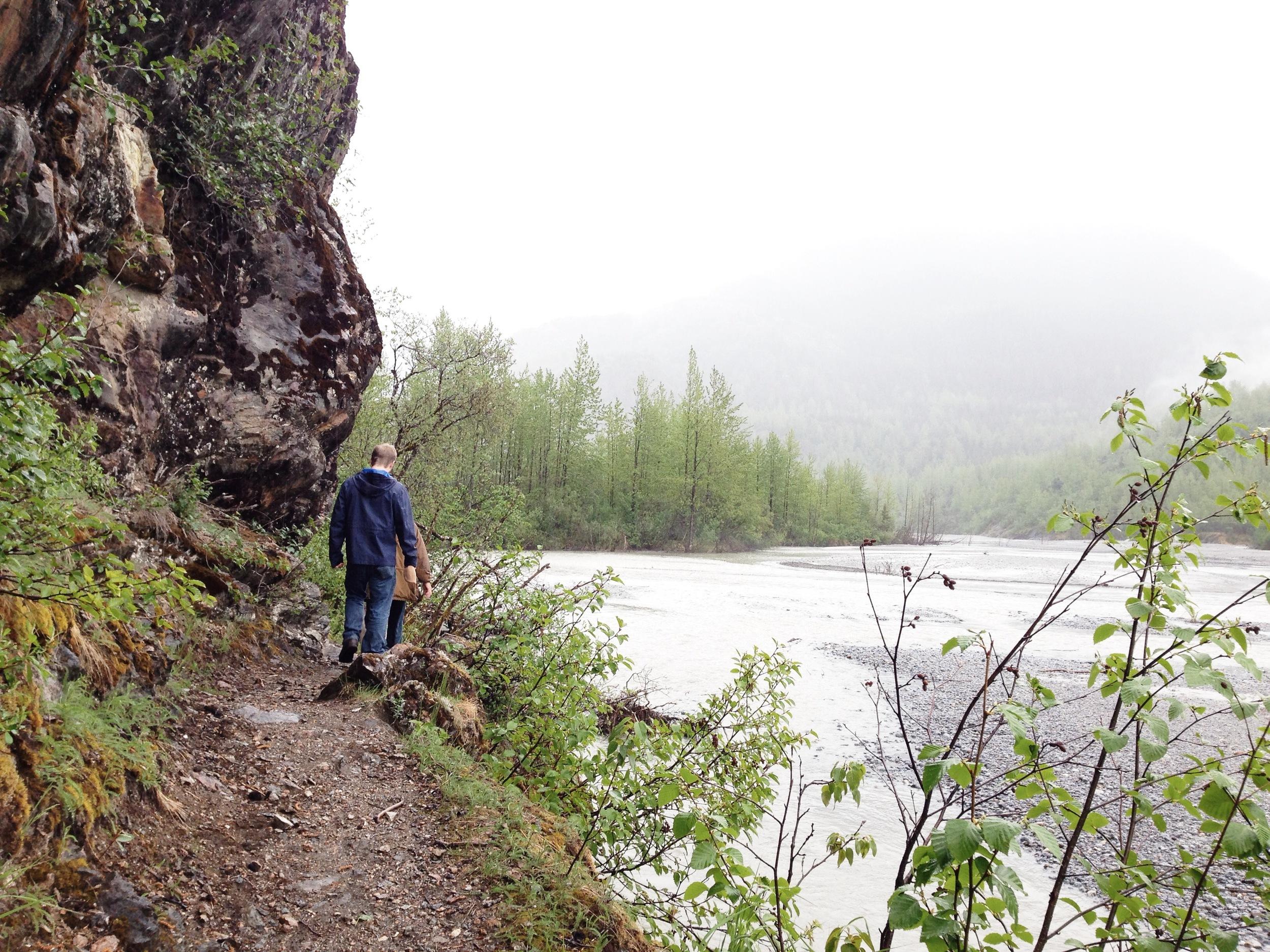 Hiking in Juneau, Alaska ↠ Herbert Glacier Trail | MALLORIE OWENS