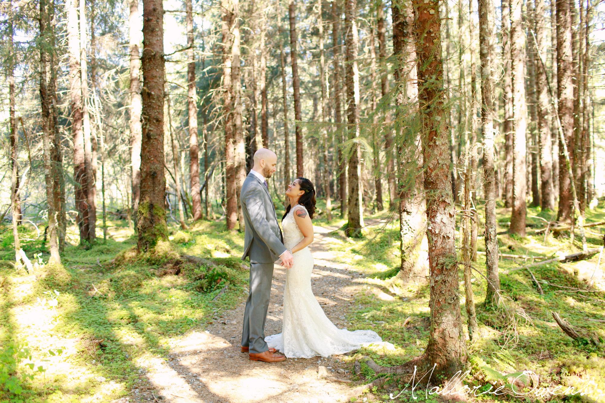 Juneau, Alaska Wedding Photography | MALLORIE OWENS