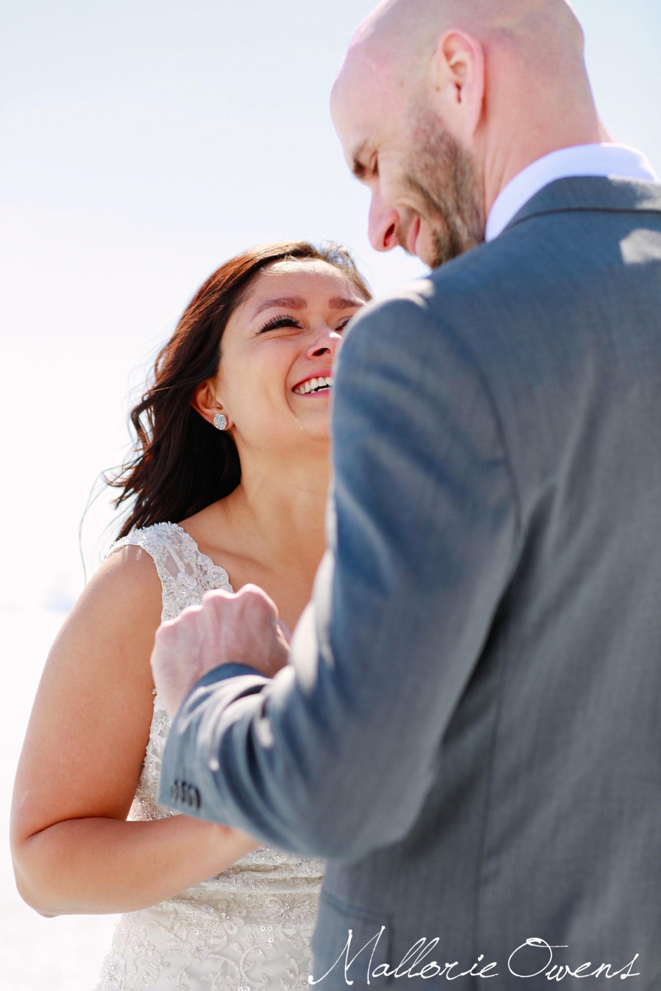 Wedding on Mendenhall Glacier in Juneau, Alaska | MALLORIE OWENS
