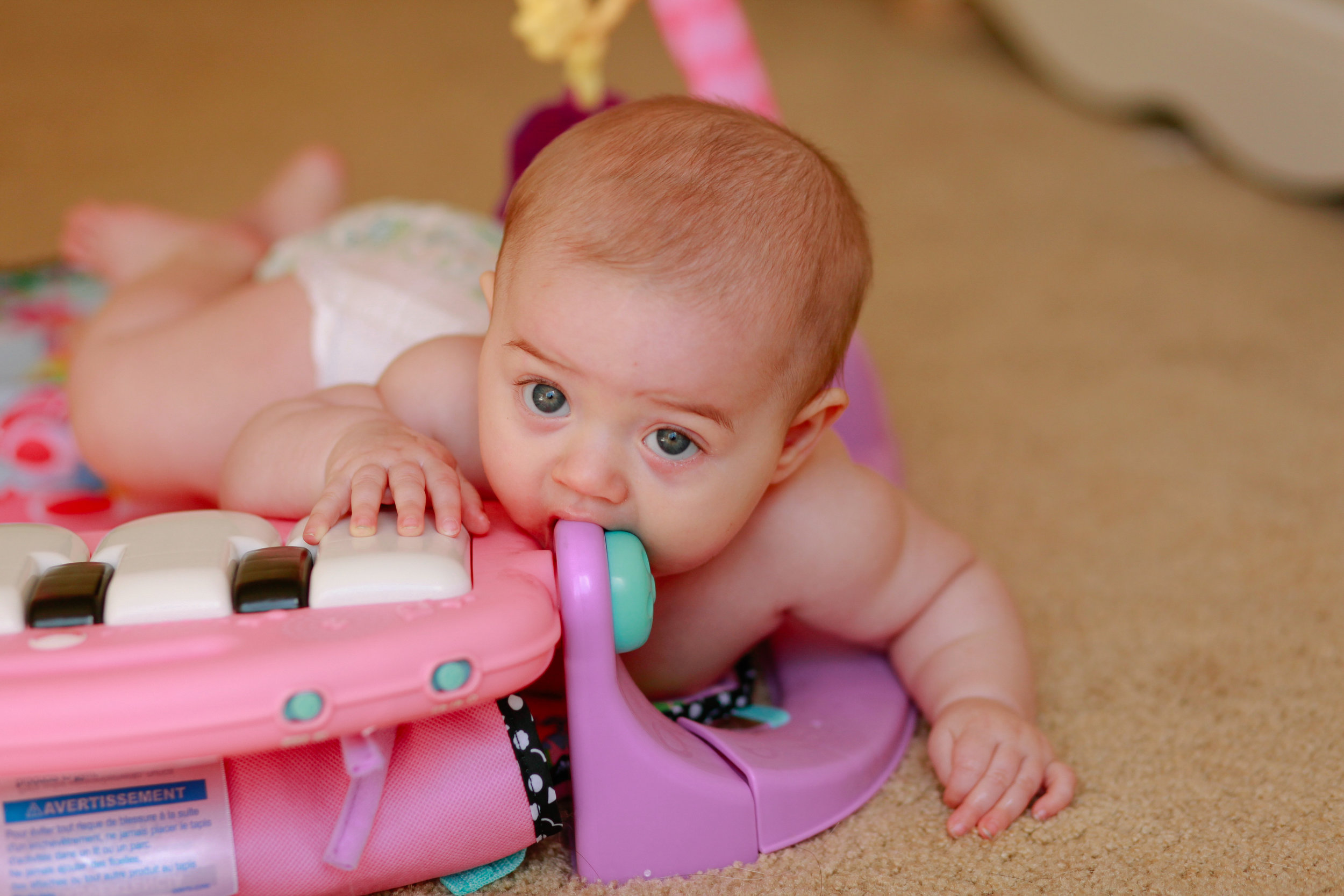 Six Months Teething Baby | MALLORIE OWENS