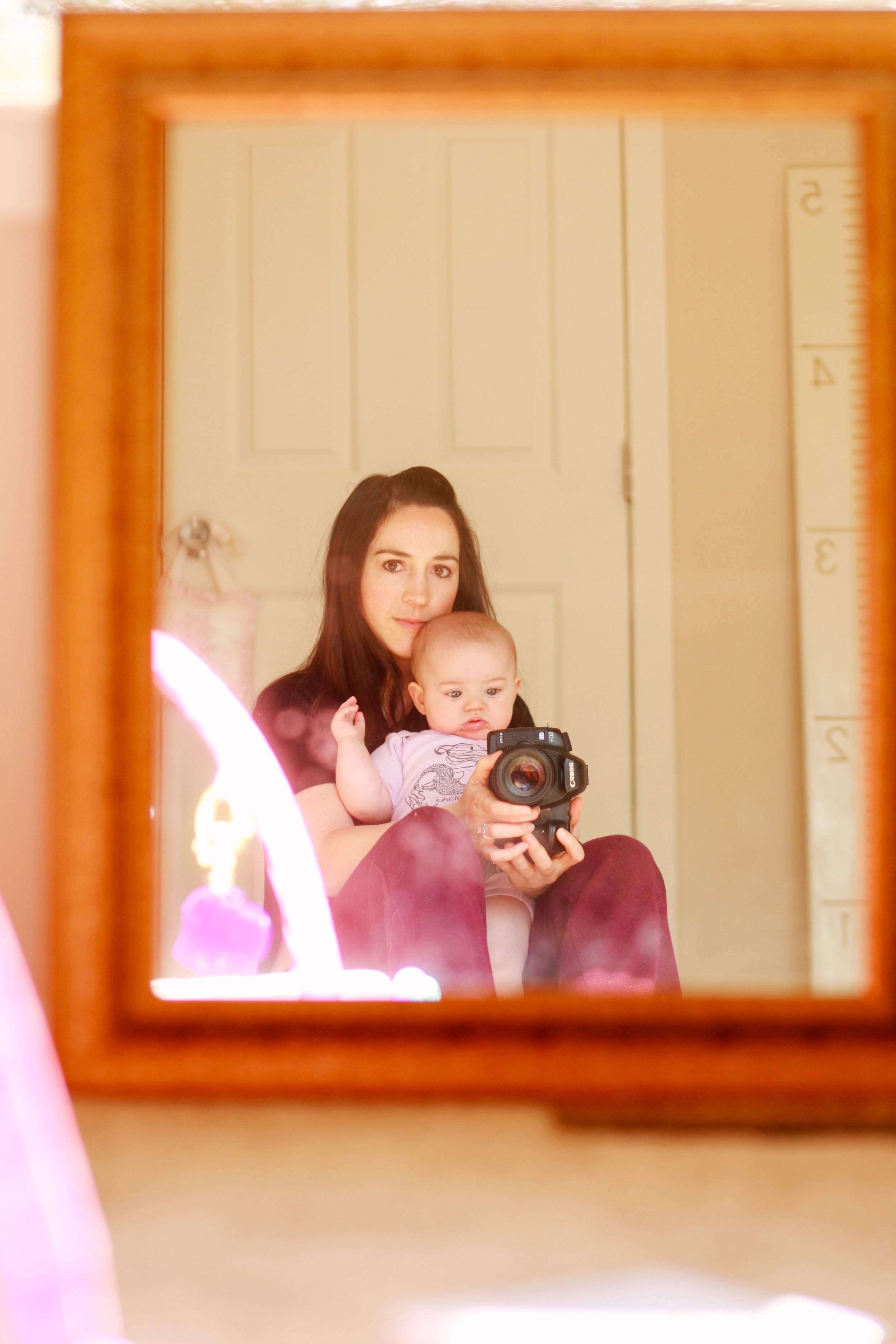 Mom and Baby Six Months | MALLORIE OWENS