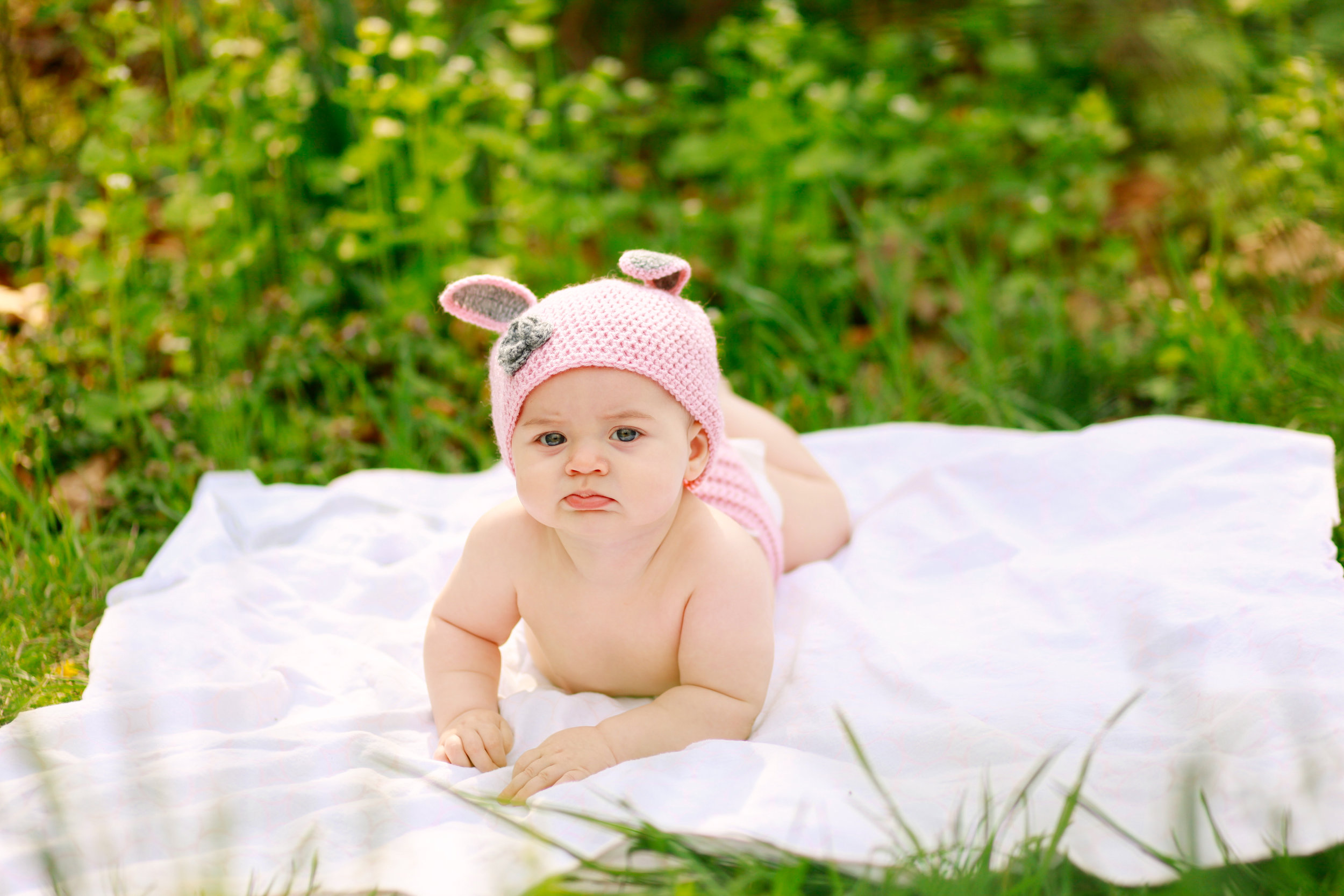 Baby Bunny Outfit | MALLORIE OWENS