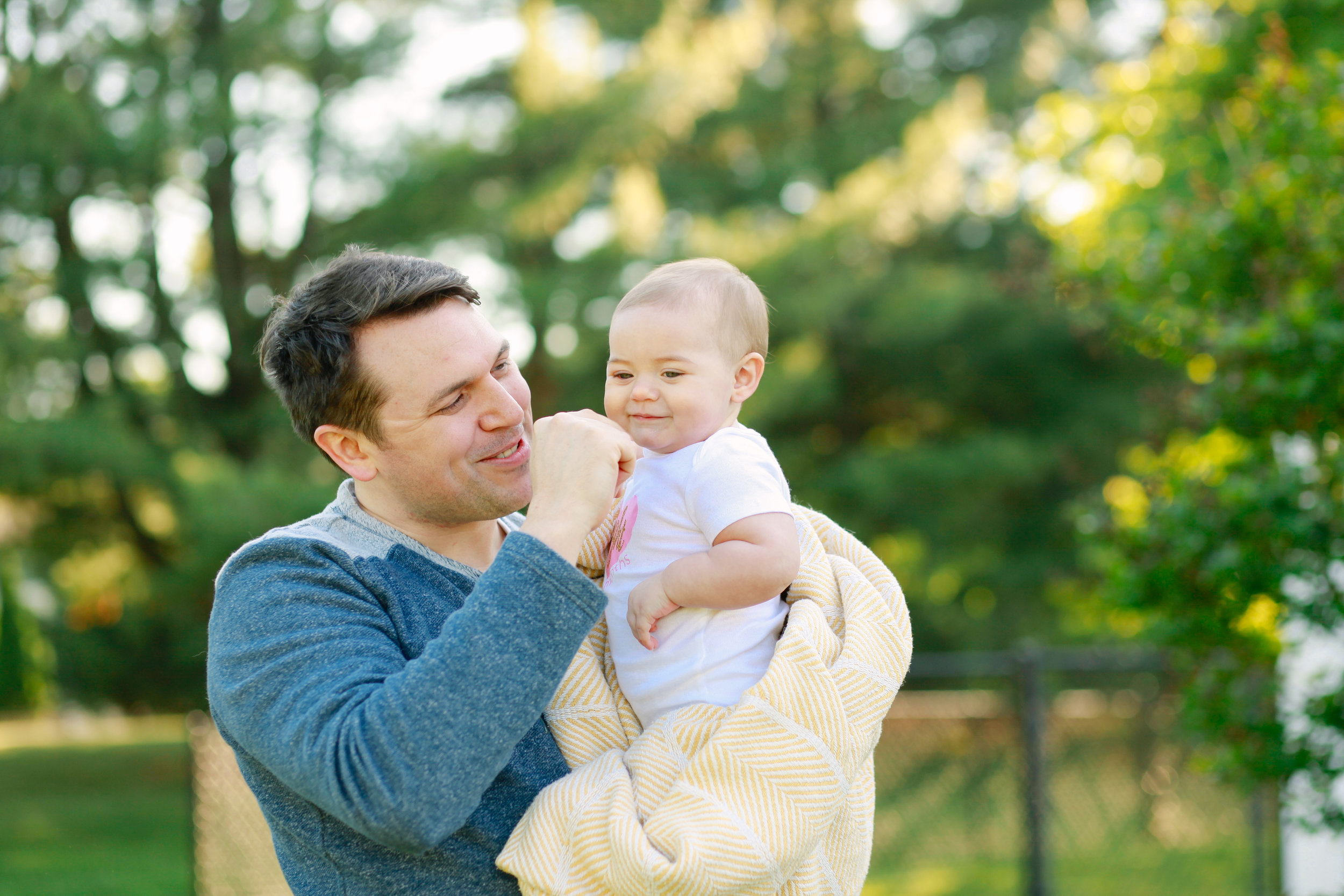 Daddy Daughter Photo Shoot | MALLORIE OWENS