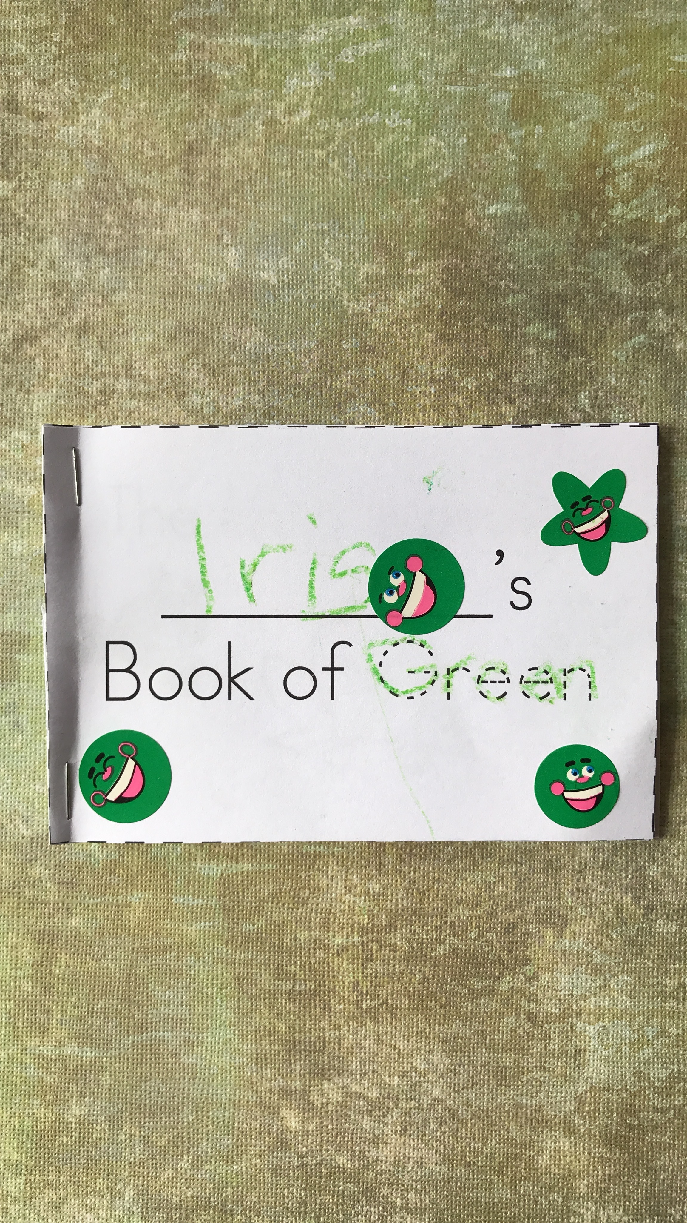 Tot School: Green Week Lesson Plan | MALLORIE OWENS