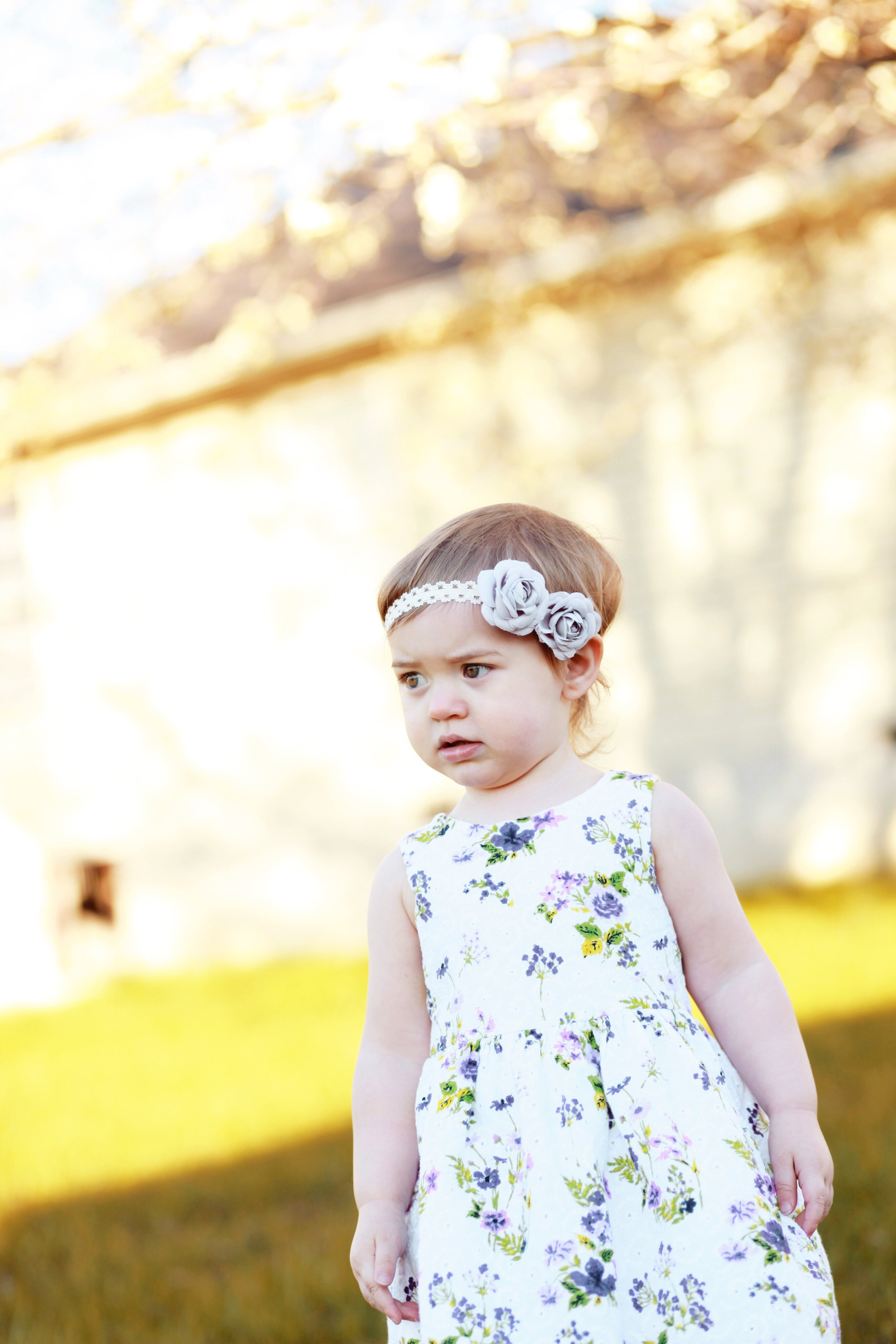 Iris 18 Months and How-To Capture Beautiful Easter Photos of Your Toddler