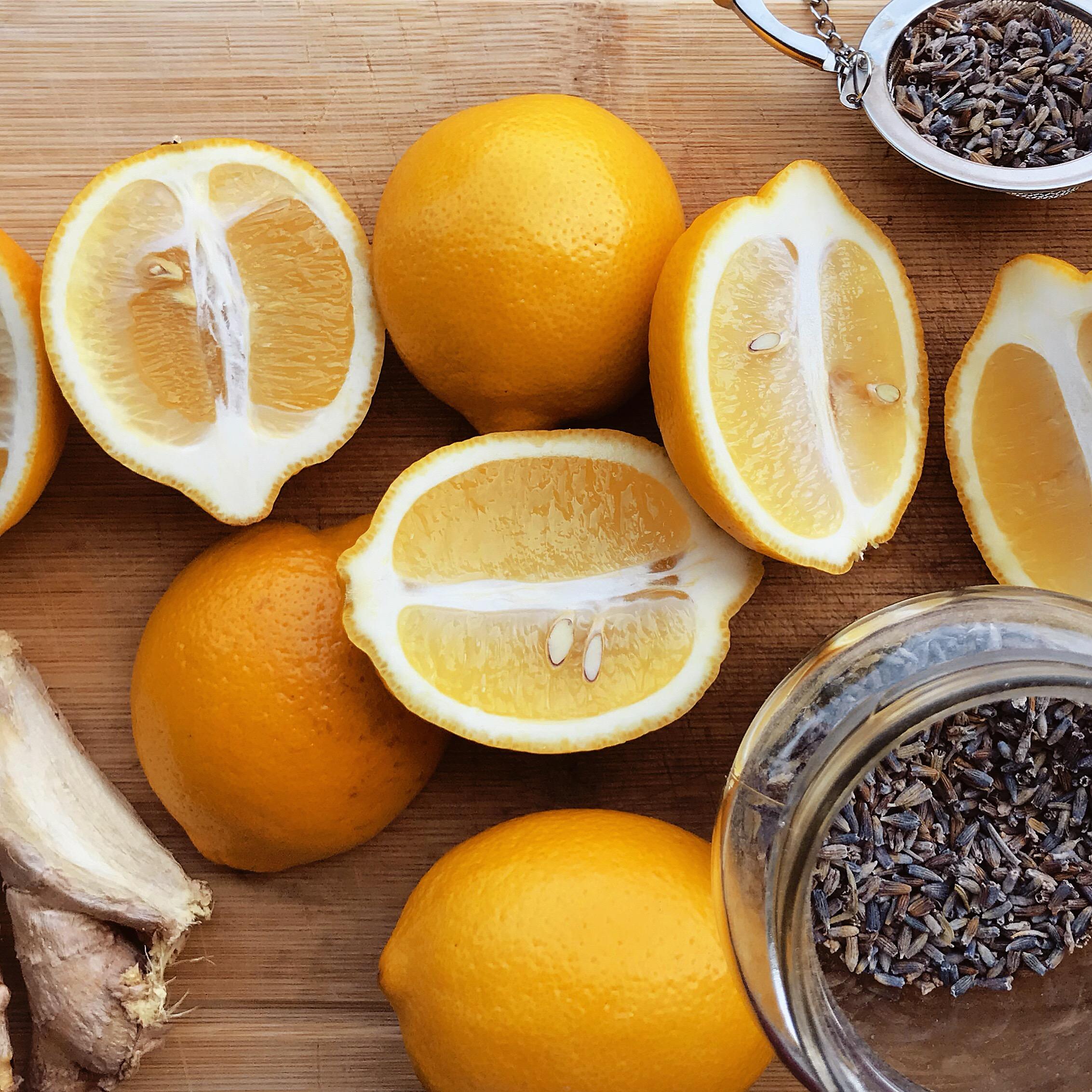 Lavender Ginger Lemonade Summer Drink Recipe | Mallorie Owens