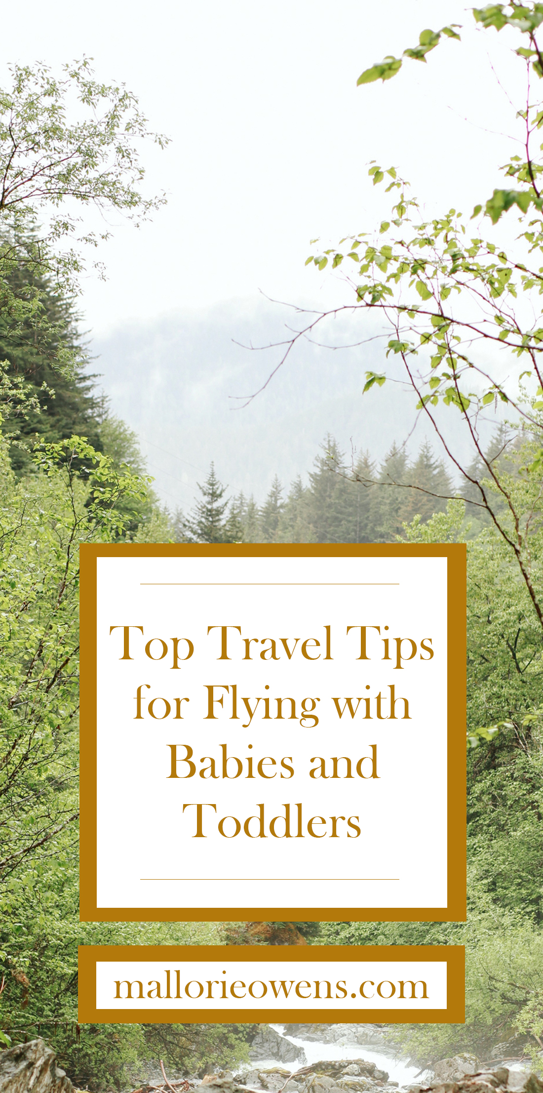 Top Travel Tips and Packing List for Babies and Toddlers