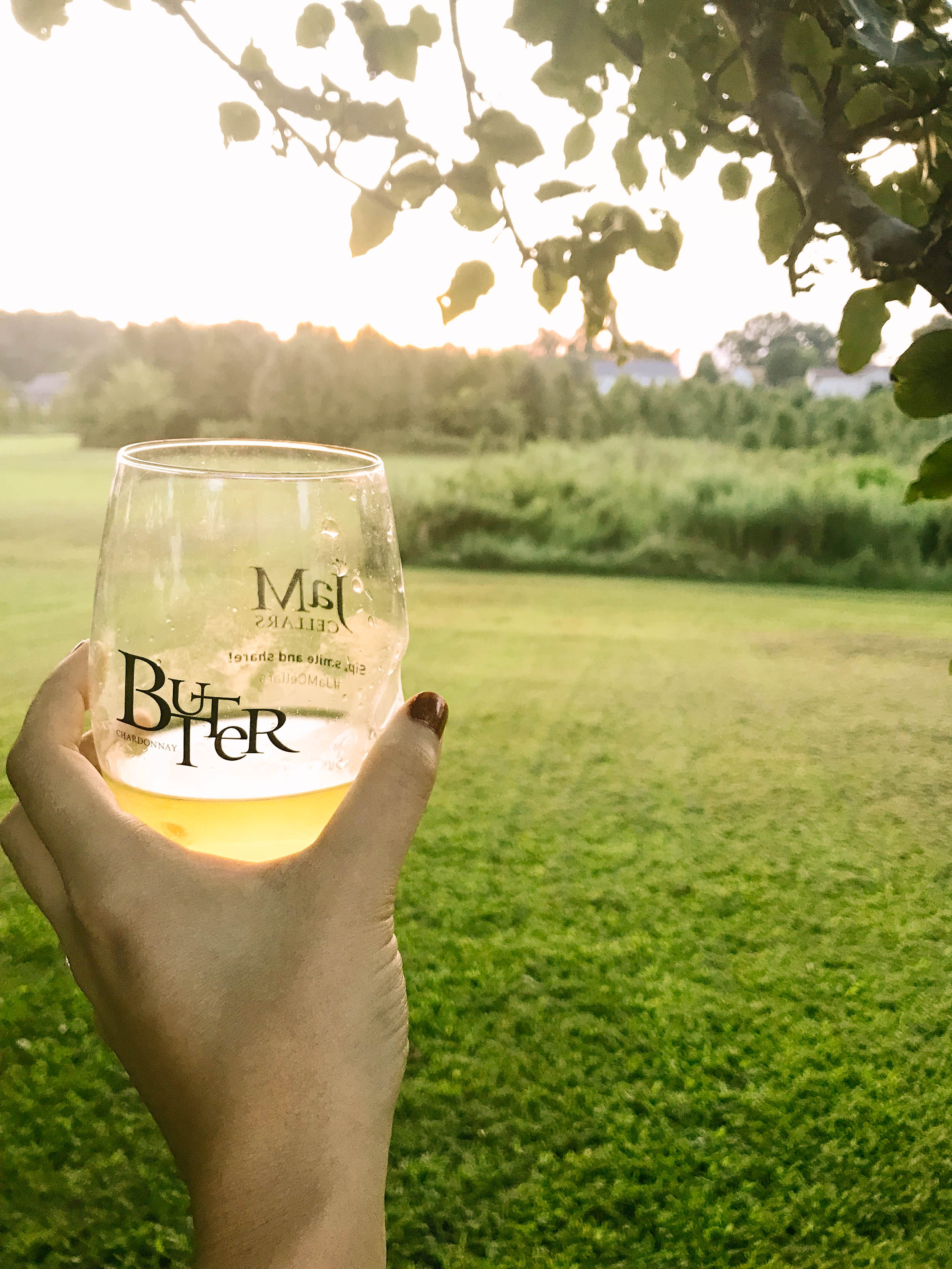 JaM Butter Chardonay Wine Picnic | Mallorie Owens
