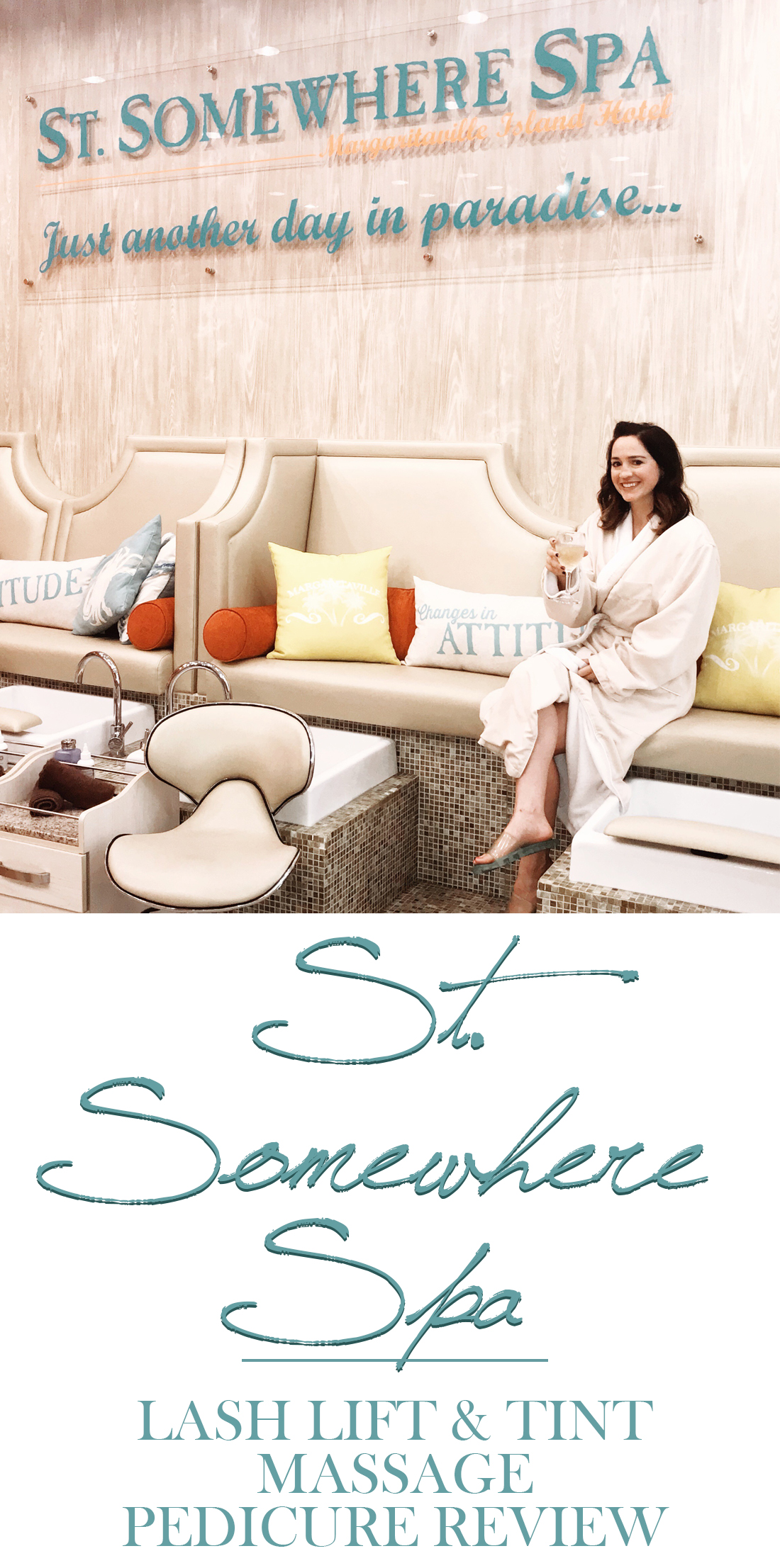 St Somewhere Spa Margaritaville Island Hotel Pigeon Forge, TN Review   Mallorie Owens