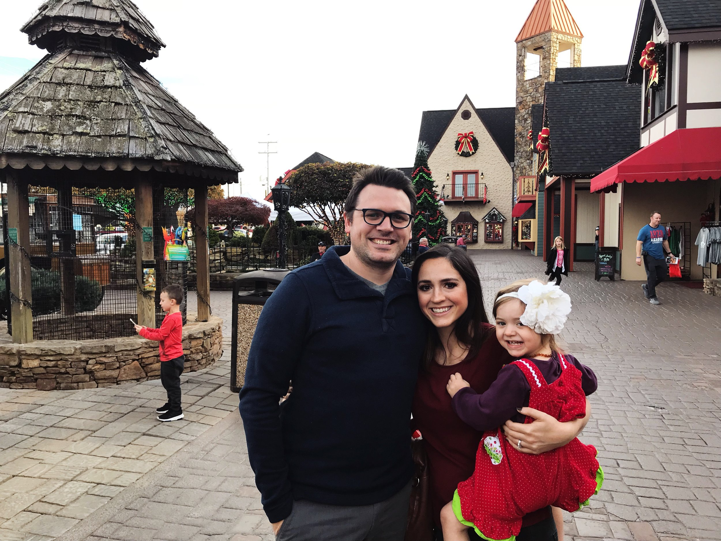 The Christmas Place in Pigeon Forge, Tennessee | Mallorie Owens