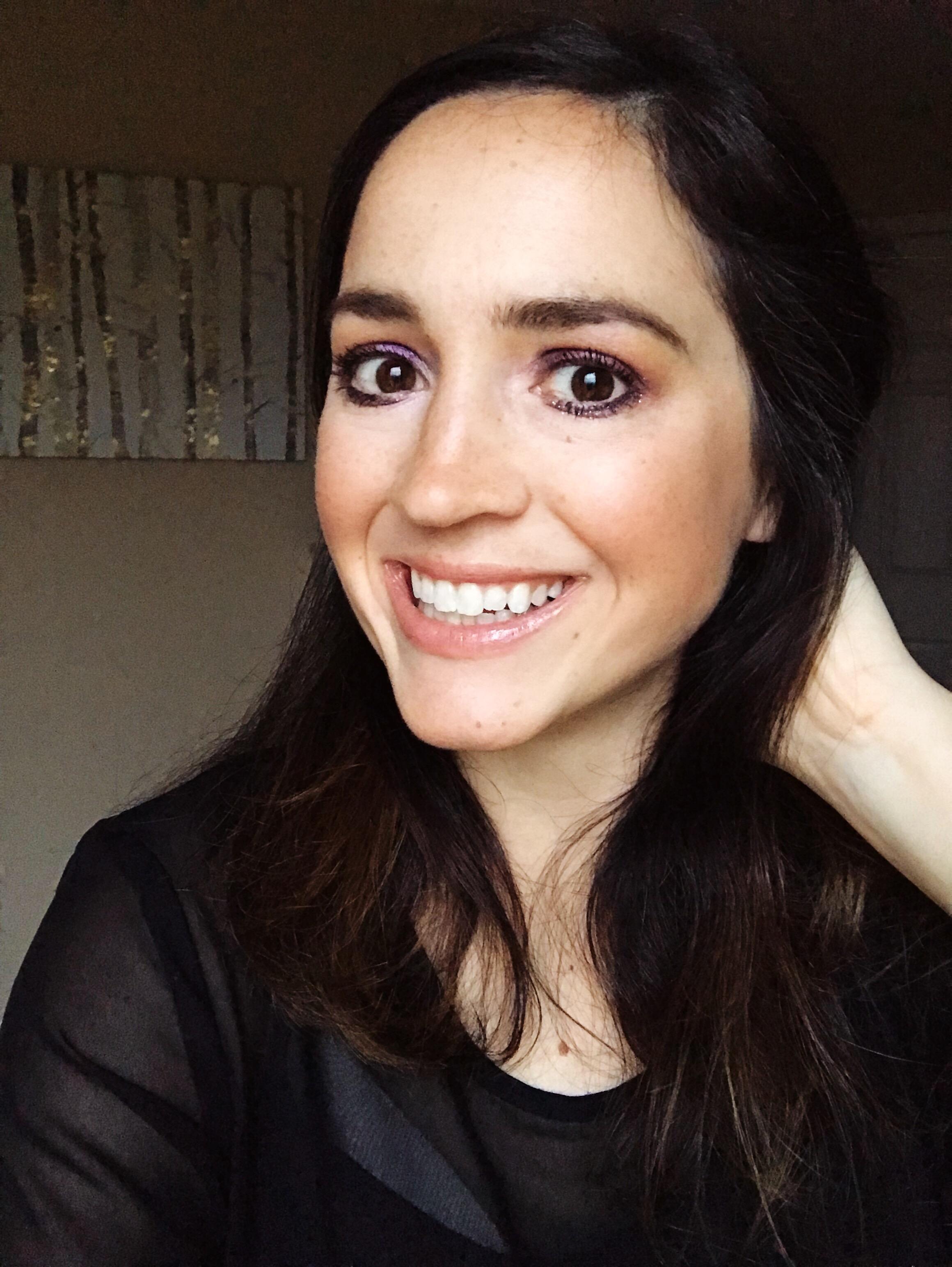 Easy Festive Eye Makeup Look | Mallorie Owens