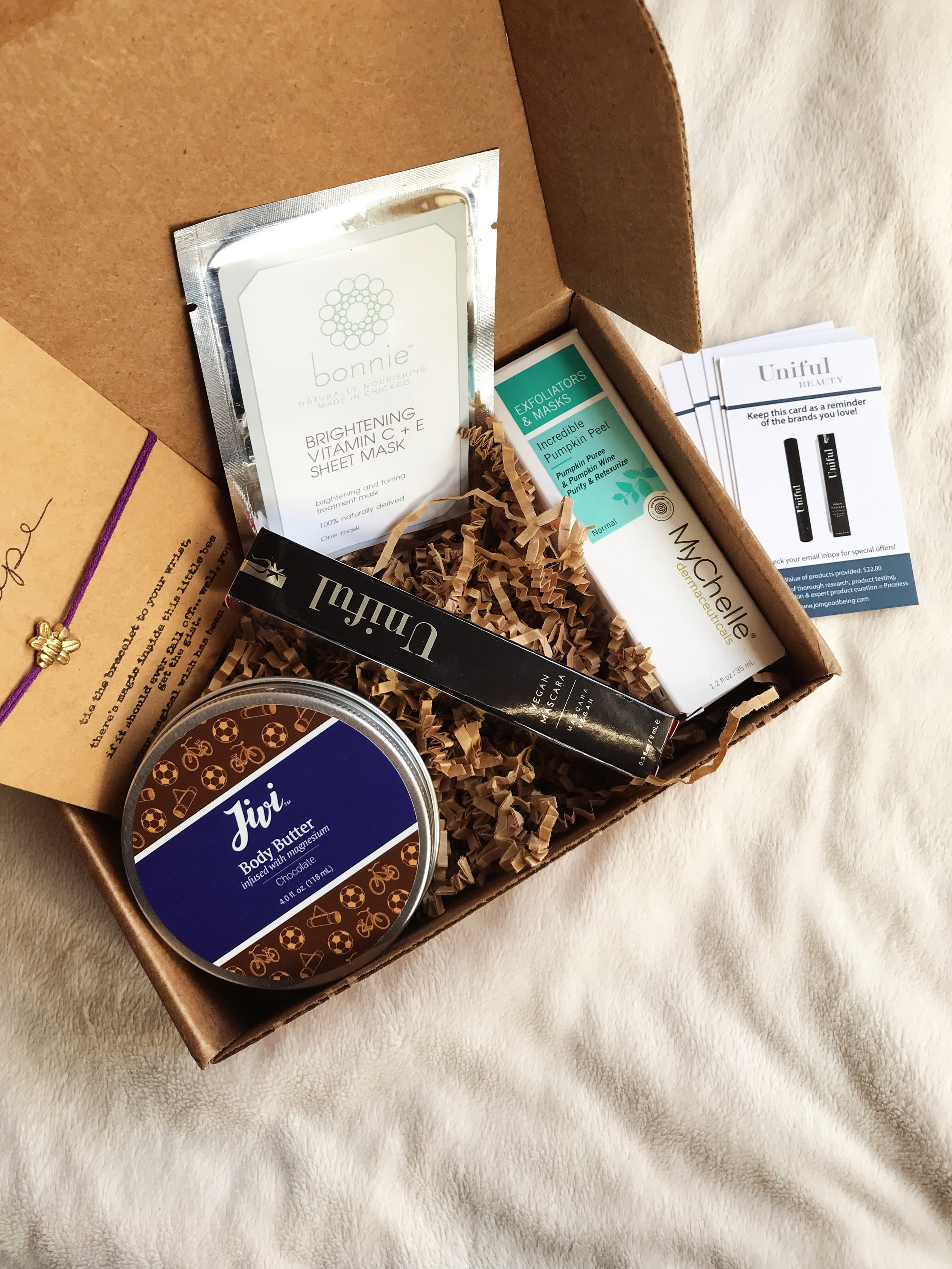 Goodbeing Green Beauty Subscription Box