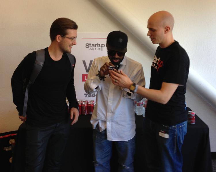 Backstage with Jermaine Dupri and Soundcloud Founder Alexander Ljung