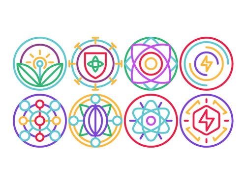 healthy symbol illustration