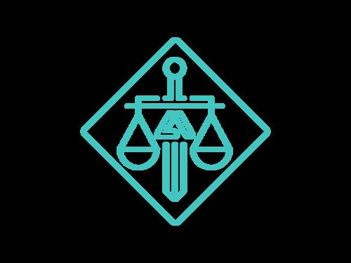 law logo illustration