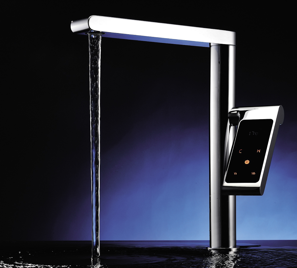 Astini Veyron touch control contemporary kitchen sink tap £2999.99