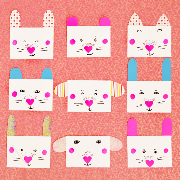 Animal Envelopes