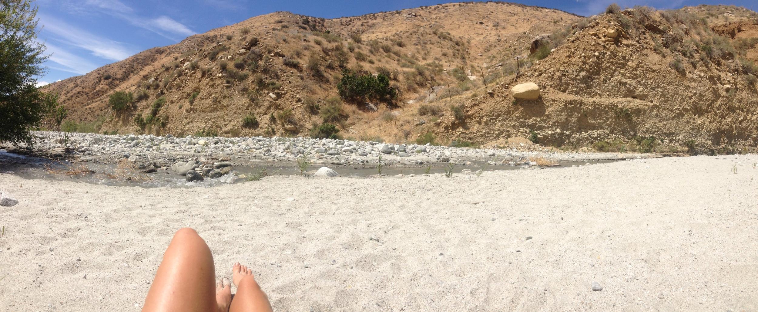 Zero. White sand. Kind folks. Sun soaked.