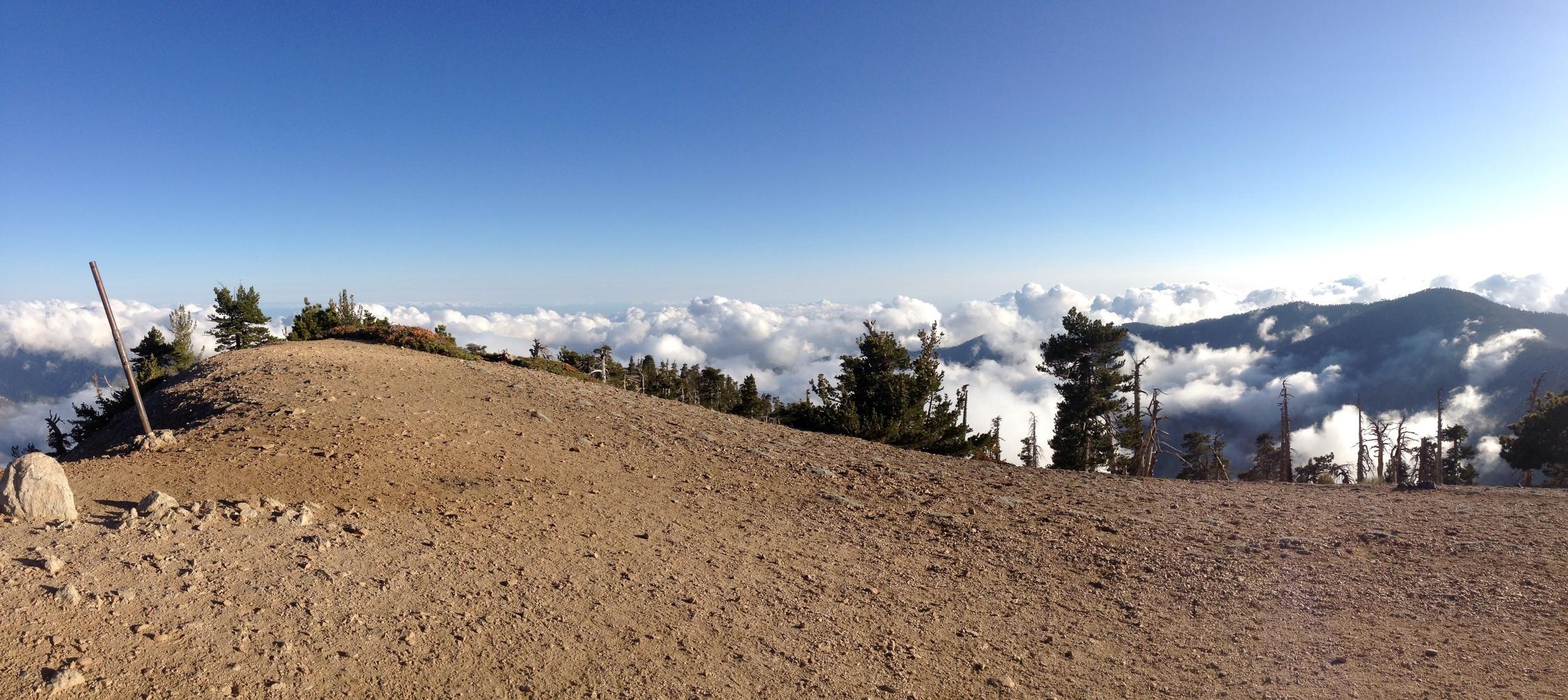 Summit of Baden Powell.