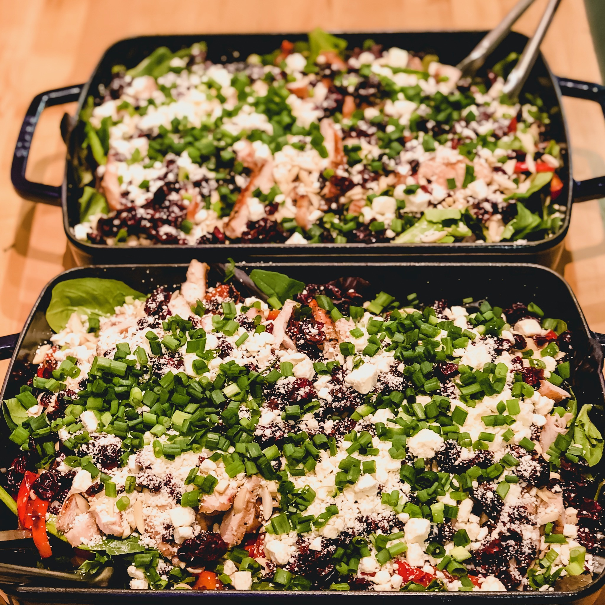 Zesty Chicken Salad - Makes 4 servings360 calories14F / 33C / 25P per serving