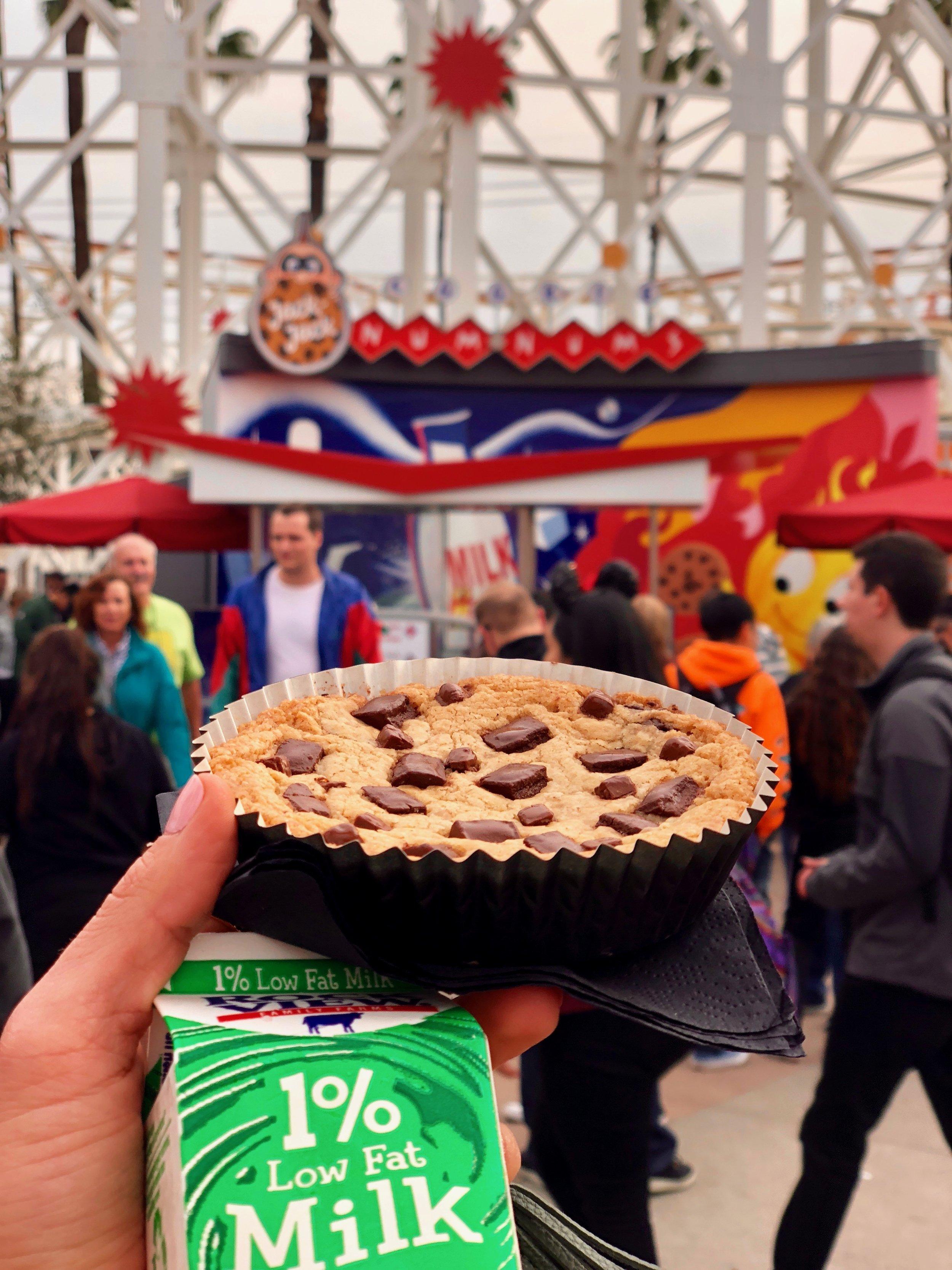 Jack-Jack's Cookie Num Nums, in California Adventure, Neighborhood Bakery (the cookie cart by Incredicoaster!)
