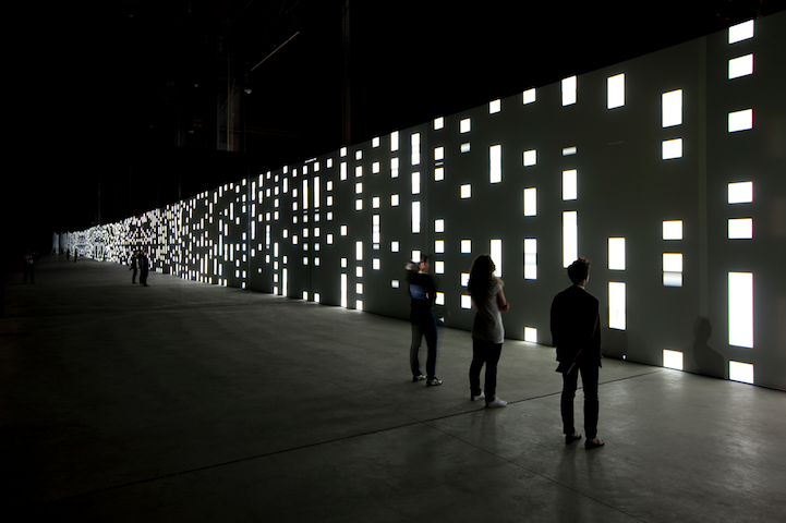 Unidisplay  is an audiovisual installation designed by German artist Carsten Nicolai