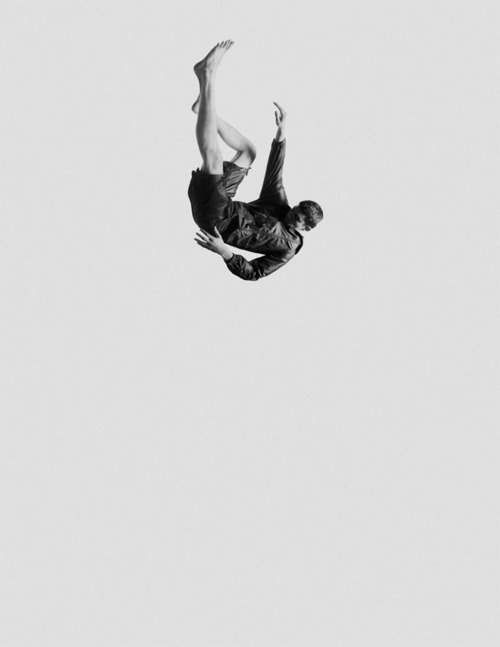 Falling forever.
